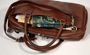 Bild på en väska som kan användas som handbagage
